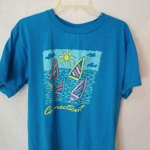 Vintage 1987 Connecticut Resort Works T-Shirt